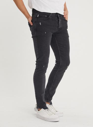 XHAN Antrasit Slim Fit Jean Pantolon 1Kxe5-44350-36 Antrasit